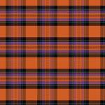 "Printed HTV Fall Stewart Plaid Print 12"" x 15"" Sheet"