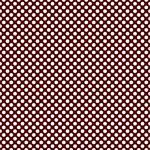 "Printed Pattern Vinyl - Maroon and White Polka Dots 12"" x 24"" Sheet"