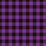 "Printed Pattern Vinyl - Purple Buffalo Plaid 12"" x 24"" Sheet"