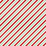 "Printed Pattern Vinyl - Candy Cane Stripe - Green and Red 12"" x 24"" Sheet"