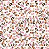 "Printed HTV Love You Latte 12"" x 15"" Sheet"