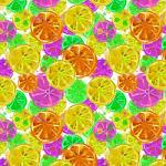 "Printed Pattern Vinyl - Citrus 12"" x 24"" Sheet"