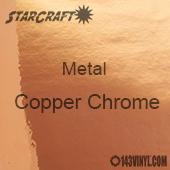 "12"" x 12"" Sheet - StarCraft Metal - Copper Chrome"