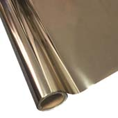 """25 Foot Roll of 12"""" StarCraft Electra Foil - Antique Gold"""