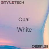 """StyleTech Opal - White - 12"""" x 24"""" Sheet"""