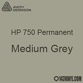 """Avery HP 750 - Medium Grey- 12"""" x 5 Foot"""