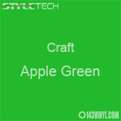 "Styletech Craft Vinyl - Apple Green- 12"" x 5 Foot"