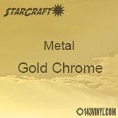 "12"" x  24"" Sheet - StarCraft Metal - Gold Chrome"