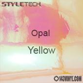 """StyleTech Opal - Yellow - 12"""" x 12"""" Sheet"""
