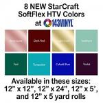 143VINYL Adds Eight New Colors Of StarCraft SoftFlex HTV