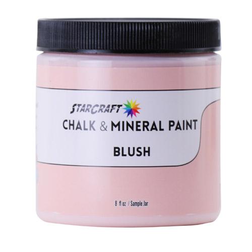 StarCraft Chalk & Mineral Paint-Sample, 8oz-Blush