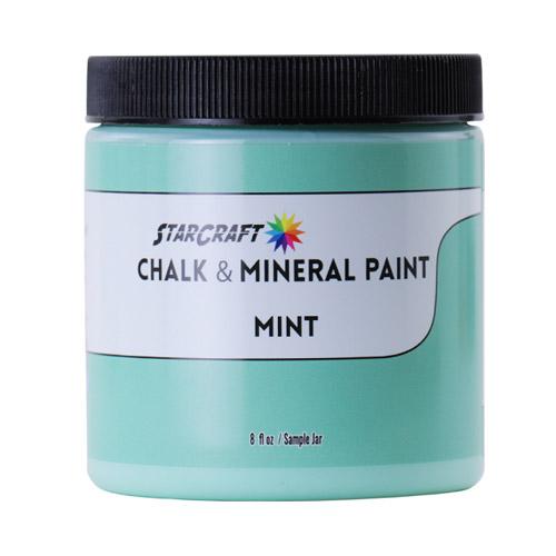 StarCraft Chalk & Mineral Paint-Sample, 8oz-Mint