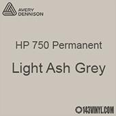 "Avery HP 750 - Light Ash Grey- 12"" x 24"" Sheet"