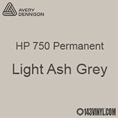 "Avery HP 750 - Light Ash Grey- 12"" x 5 Foot"