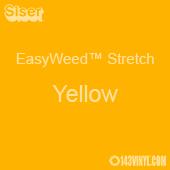 "12"" x 5 Yard Roll Siser EasyWeed Stretch HTV - Yellow"