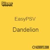 """Siser EasyPSV - Dandelion (06) - 12"""" x 24"""" Sheet"""