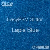 """Siser EasyPSV Glitter - Lapis Blue (61) - 12"""" x 24"""" Sheet"""