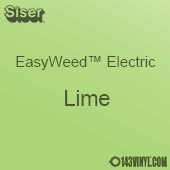 """12"""" x 15"""" Sheet Siser EasyWeed Electric HTV - Lime"""