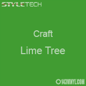 "Styletech Craft Vinyl - Lime Tree- 12"" x 24"" Sheet"