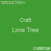 "Styletech Craft Vinyl - Lime Tree- 12"" x 5 Foot"