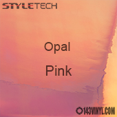 "StyleTech Opal - Pink - 12"" x 24"" Sheet"