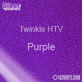 "12"" x 20"" Sheet Siser Twinkle HTV - Purple"