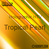 "12"" x 20"" Sheet Siser Holographic HTV - Tropical Pearl"