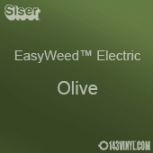 """12"""" x 15"""" Sheet Siser EasyWeed Electric HTV - Olive"""