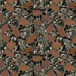 "Printed Pattern Vinyl - Real Woods Camo 12"" x 24"" Sheet"