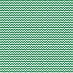 "Printed Pattern Vinyl - Green and White Chevron 12"" x 12"" Sheet"