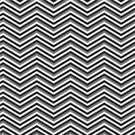 "Printed Pattern Vinyl - Black White Grey Chevron 12"" x 12"" Sheet"