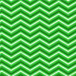 "Printed Pattern Vinyl - Greens Chevron 12"" x 12"" Sheet"