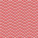 "Printed Pattern Vinyl - Reds Chevron 12"" x 12"" Sheet"
