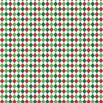 "Printed Pattern Vinyl - Christmas Argyle 12"" x 24"" Sheet"