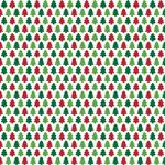 "Printed Pattern Vinyl - Christmas Trees 12"" x 24"" Sheet"