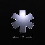 Acrylic Blank - Badge Reel - EMS