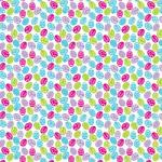 "Printed Pattern Vinyl - Easter Eggs 12"" x 12"" Sheet"