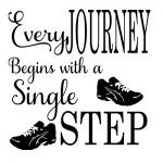 Free Download - Every Journey Begins with a Single Step