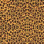 "Printed Pattern Vinyl - Faux Leopard 12"" x 24"" Sheet"
