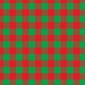 "Printed HTV Green and Red Buffalo Plaid Print 12"" x 15"" Sheet"