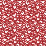 "Printed Pattern Vinyl - Hearts 12"" x 24"" Sheet"