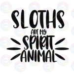 Sloths are My Spirit Animal