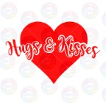 Hugs and Kisses Big Heart