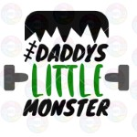 Daddy's Little Monster Green