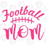 Football Mom Laces