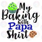 Baking with Papa