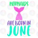 Mermaids are Born in June