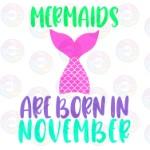 Mermaids are Born in November