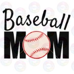 Baseball Mom Layered
