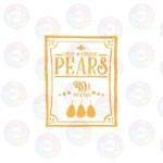 Crisp and Organic Pears